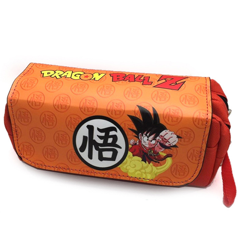 Cosmetic Cases Anime Cartoon Dragon Ball Z Students Pencil Case Portable Storage Bag Boy Girl School Supplies Bag