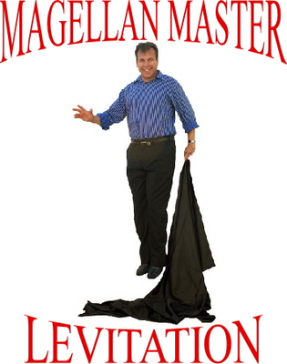 Jimmy Fingers The Magellan Master Levitation Magic Tricks