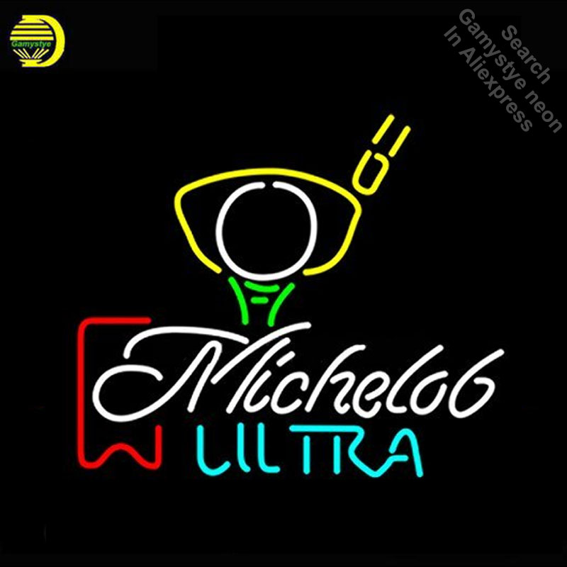 Neon Sign for Michelob Ultra Neon Bulbs sign Lamps handcraft Glass tubes Decorate Beer Wall Room signs made to orderNeon Sign for Michelob Ultra Neon Bulbs sign Lamps handcraft Glass tubes Decorate Beer Wall Room signs made to order