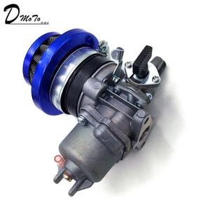 Image 2 - Pocket bike 47cc 49cc carburador, motor carb com filtro de ar 2 tempos para mini quad atv dirt bike minimoto