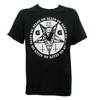 Authentic GG ALLIN War In My Head Punk Rock T Shirt S 3XL NEW Adult 100