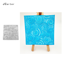 JC 2019 New Arrival Surge Wave Stencil Metal Cutting Dies for Scrapbooking DIY Embossing Folder Paper Card Handmade Album Crafts