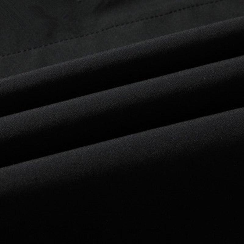 2019 spring autumn men's fashion casual hooded jackets Business High quality jacket men Windbreaker Coat mens Outwear - 6
