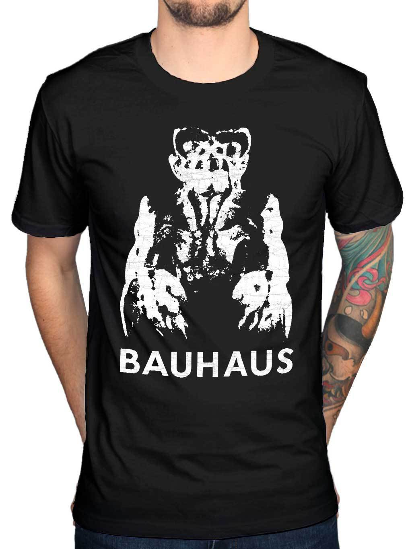 2017 Newest Summer Funny Bauhaus Gargoyle T Shirt Music Rock Punk Indie Tour Merchandise Printed T Shirt Own Style Tees