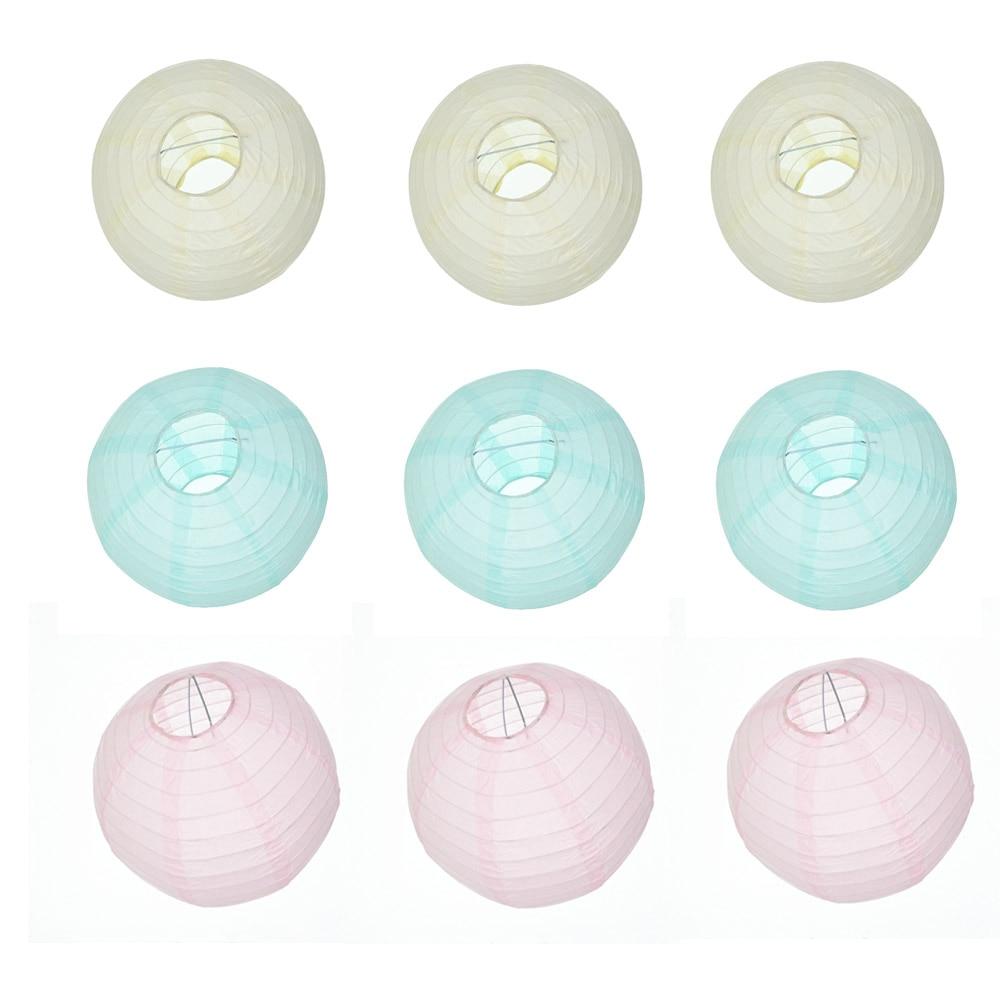 Linterna de papel china festival de la lámpara decoración del banquete de boda l