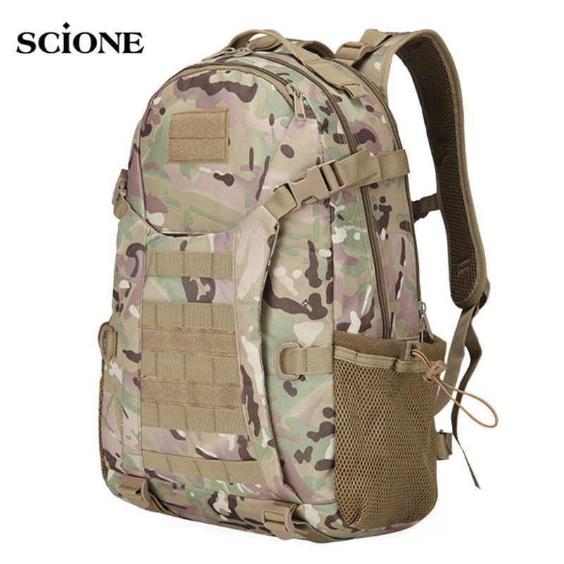 50L Molle Camping Rucksack Tactical Military Backpack Bags Waterproof Backpacks Camouflage Hiking Outdoor Shoulder Bag XA303WA famous brand 40l outdoor sports military molle tactical travel backpack bags for walking and hiking camping backpacks bag