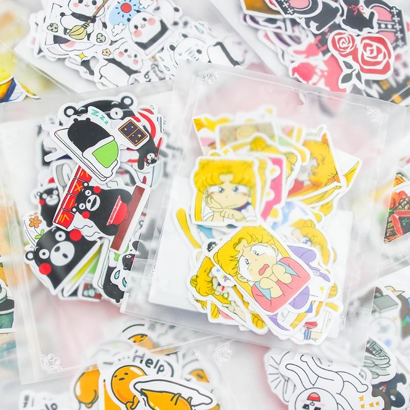 24 Different Style Animal Mini Paper Sticker Decoration DIY Ablum Diary Scrapbooking Label Sticker Kawaii Stationery