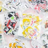 Different Style Animal Mini Paper Sticker Decoration DIY Ablum Diary Scrapbooking Label Sticker Kawaii Stationery Memo Pads