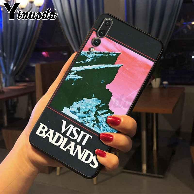 Yinuoda Badlands Halsey yumuşak tpu Silikon telefon kılıfı için Huawei mate20pro p20lite honor8x nova3i mate10lite kılıf Kapak