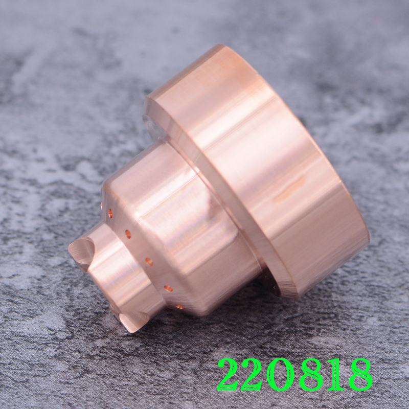 220818 Sheild 45A- 85A Plasma Cutting Consumable electrode 220842 220777 Nozzle 220816 220819 220941 swirl ring 220857 228716 220842 electrode 40pcs 220816 nozzle 40pcs 85a 80pcs per lot plasma consumable for 85a plasma cutting