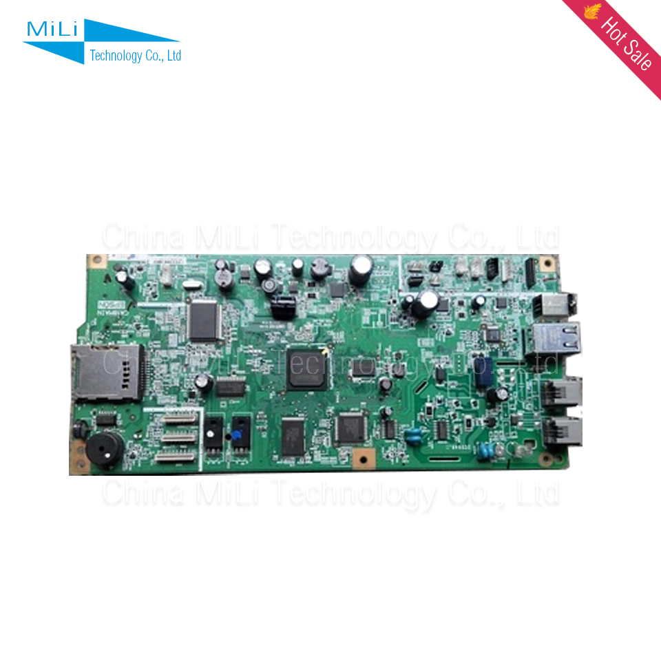 GZLSPART For Epson TX600FW TX600 600FW Original Used Formatter Board Printer Parts On Sale 10pcs for epson dx5 uv printer ink damper for epson stylus proll 4000 4800 7400 7800 9800 9400 9450 flat printer uv ink damper