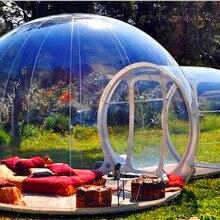 Открытый прозрачный надувной пузырь палатка надувной шоу дом горячая Распродажа коммерческий надувной прозрачный газон пузырь палатка