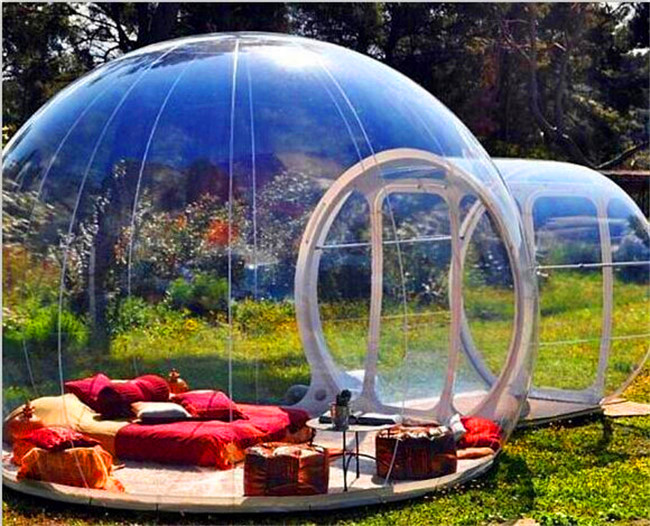 Outdoor Transparent Inflatable Bubble Tent Inflatable Show House Hot sale Commercial Inflatable Clear Lawn Bubble Tent clear bubble tent cheap inflatable hiking lawn tent inflatable party tent outdoor family dining inflatable bubble camping tent
