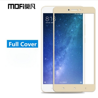 "<font><b>Mofi</b></font> <font><b>Full</b></font> <font><b>cover</b></font> <font><b>Tempered</b></font> <font><b>Glass</b></font> For Xiaomi Mi MAX 2 6.44"" <font><b>Screen</b></font> Protector Anti-Explosion Anti-Scratch <font><b>Guard</b></font> Film"