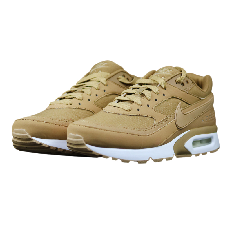 new concept d35e1 fa7ca Original Nike Air Max BW Wheat Men s Running Shoes ,Brown,Lightweight Shock  Absorption ...