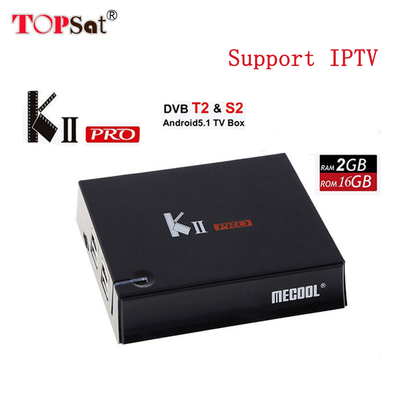 1080P HD KII Pro iptv android 7.1 Tv Box DVB-T2 DVB T2+S2 Amlogic S905D Quad-core 2GB/16GB Bluetooth 2.4G/5G Wifi  Set Top Box android box iptv stalker middleware ipremuim i9pro stc digital connector support dvb s2 dvb t2 cable isdb t iptv android tv box