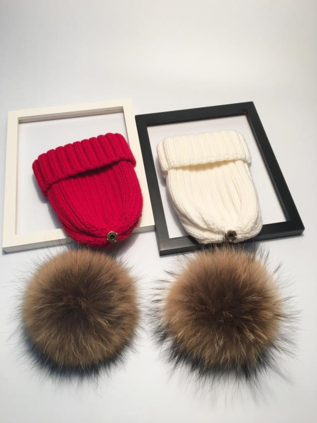 winter hats for women pom pom hat  (4)