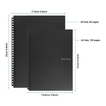 Elfinbook Erasable Notebook Paper