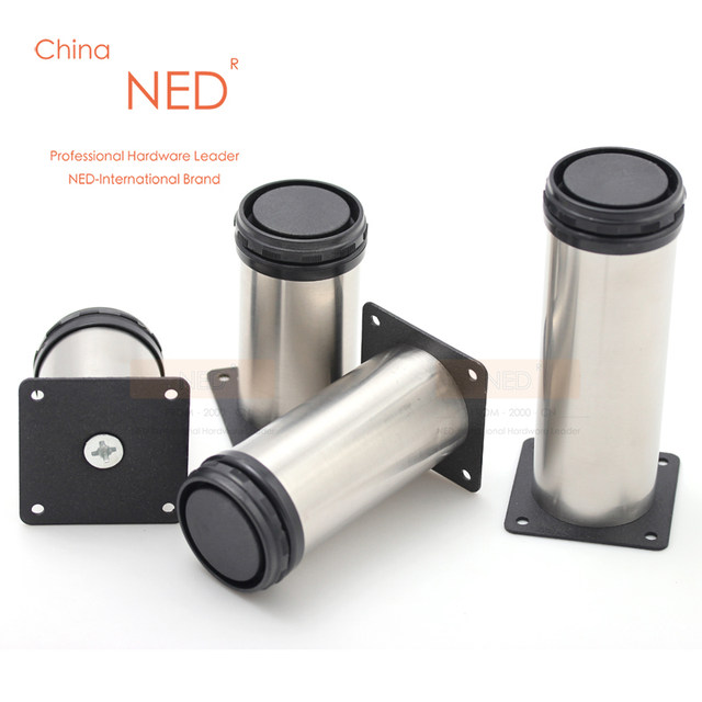 Online Shop Brand NED PCS CM Height Furniture Legs Adjustable - 10 ft stainless steel table