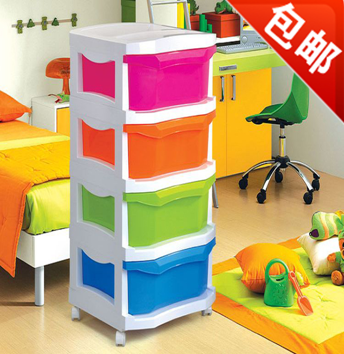 clothes drawer storage cabinet finishing clothes holding baby child baby toys multilayer plastic. Black Bedroom Furniture Sets. Home Design Ideas