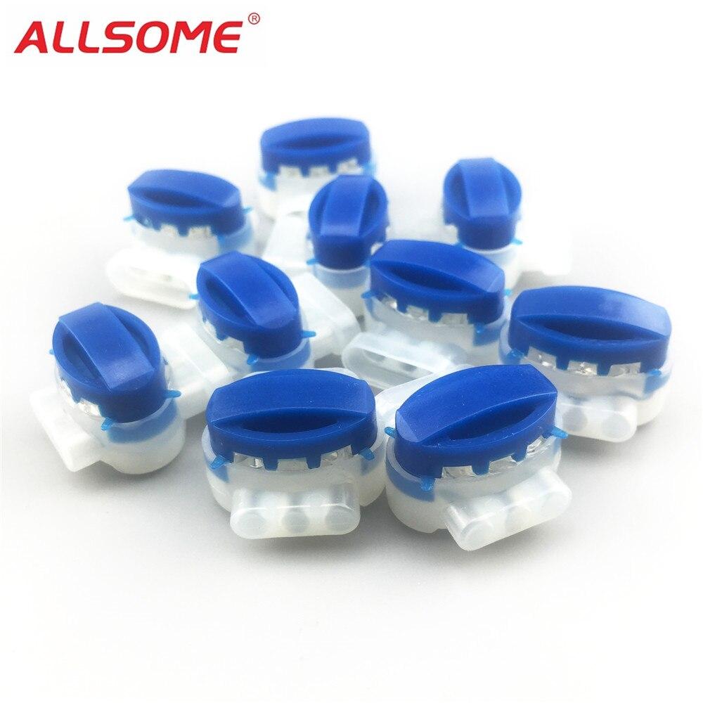 ALLSOME 100pcs Replace Equivalent 3m Scotchlok 314 Wire Connector Terminal Wholesale