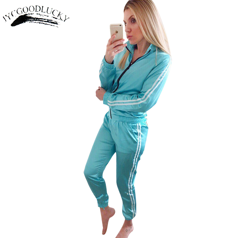 6c2f5c65 Striped Tracksuit For Women Long Women's Suits Fashion Casual Women's  Tracksuits Autumn Coats And Pants Two Pieces Women's Suit-in Women's Sets  from Women's ...