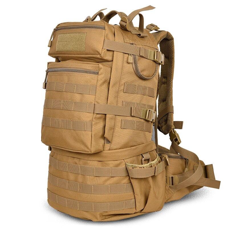 Открытый Армия 50L тактический рюкзак Кемпинг Треккинг сумка большой емкости Пеший Туризм рюкзак для путешествий рюкзак Для мужчин сумка