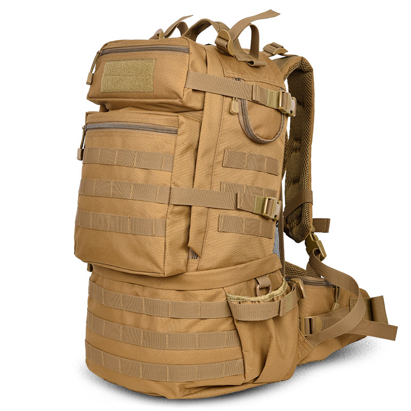 Outdoor Military Army 50L Tactical Backpack Camping Trekking Bag Large-capacity Hiking Rucksack Travel Backpack Men Bag opinel opinel 8 beechwood