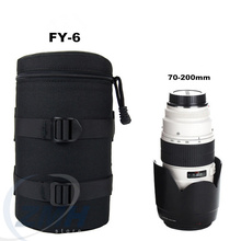 Univeral Camera Lens Pouch Bag Case Waterproof Anti-shock for Nikon