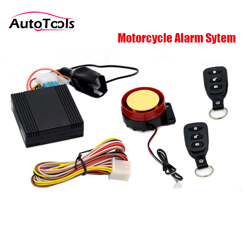 Motorcycle Alarm System Scooter Anti Theft Security Alarm