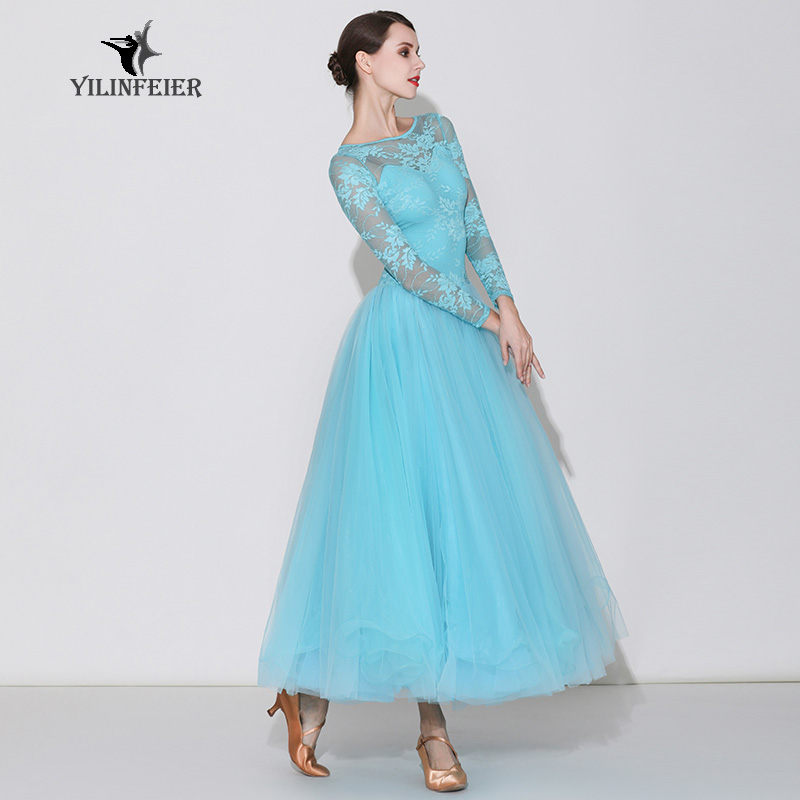 High-grade Ballroom Waltz Dance Dress Ballroom Dance Competition Dresses Standard Ballroom Dancing Clothes Tango Dress S7031
