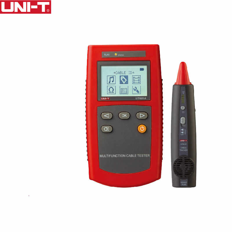 UNI-T UT681A 多機能ケーブルファインダーセットネットワークテスターケーブルテスターハント計器装置