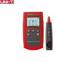 UNI T ut681a Multi Функция кабель Finder Комплект сетевой тестер кабельный тестер инструмента проверка линии устройства