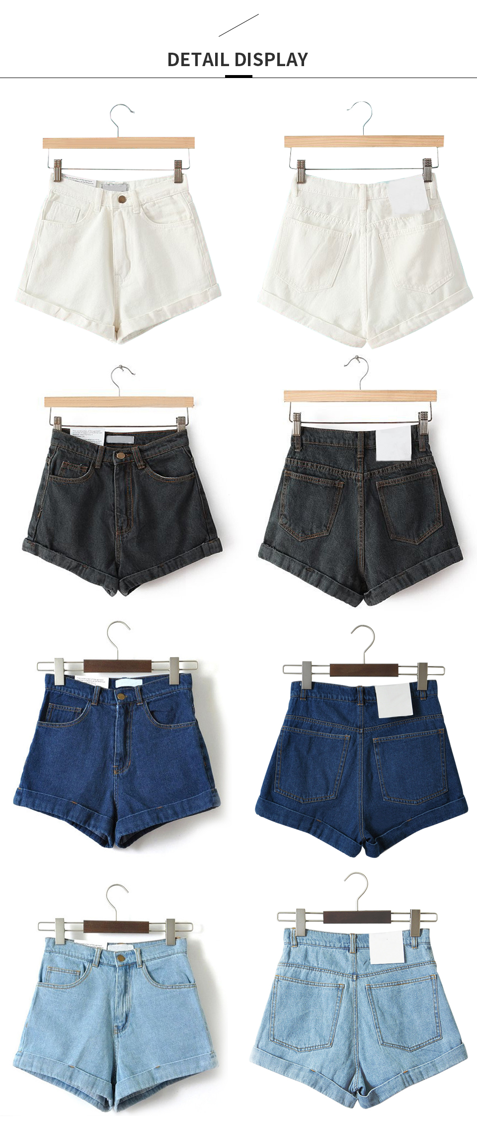 HTB1n3wxiYZnBKNjSZFrq6yRLFXal - GOPLUS High Waist Denim Shorts for Women Vintage Sexy Brand Shorts Jeans Women Denim Shorts Feminino Slim Hip Plus Size C3627