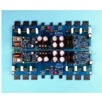KSA100 150W*2 2.0 channel DIY fever class AB C5200/A1943 pure After level amplifier board With UPC1237 speaker protection