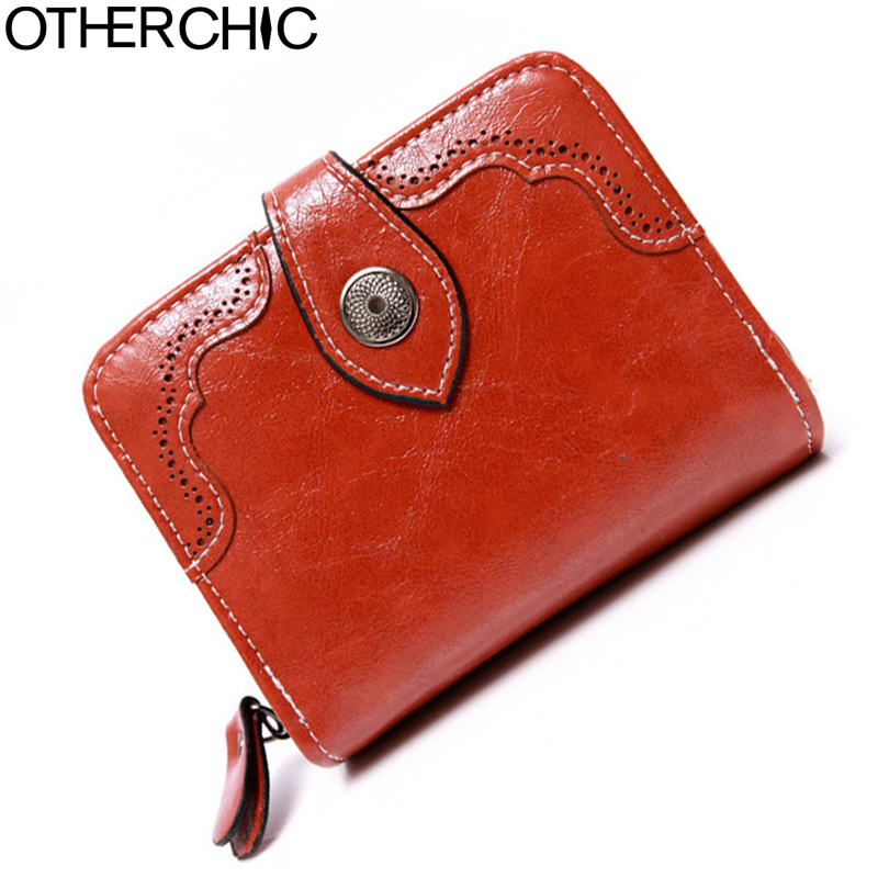 OTHERCHIC Hasp Wallet Small Wallet Fashion Women Wallets Slim Wallet Coin Purse Portefeuille Card Holder Women Purses 17Y03-13 casual weaving design card holder handbag hasp wallet for women