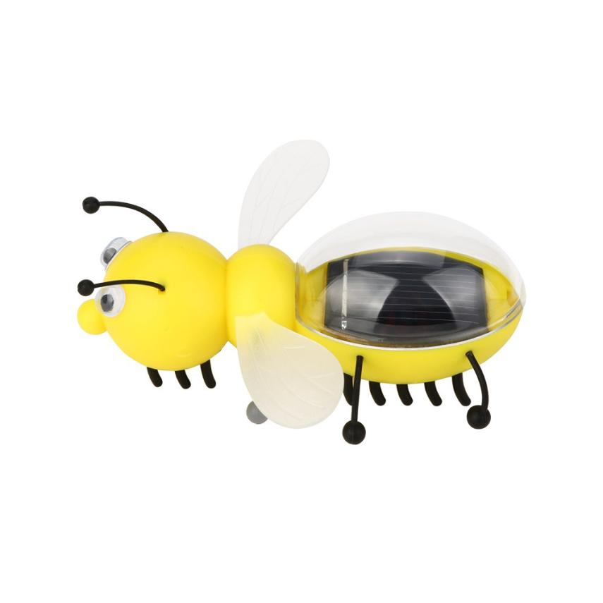 HIINST Solar Powered Guarding Little Bee Gadget Brain Educational Toys Solar powered, without battery P30 APR30