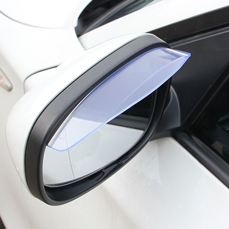 Car Accessories Rearview Mirror Rain Shade Rainproof Blades For BMW m3 m5 e46 e39 e36 e90 e60 f30 e30 e34 f10 <font><b>e53</b></font> f20 e87 x3 <font><b>x5</b></font> image