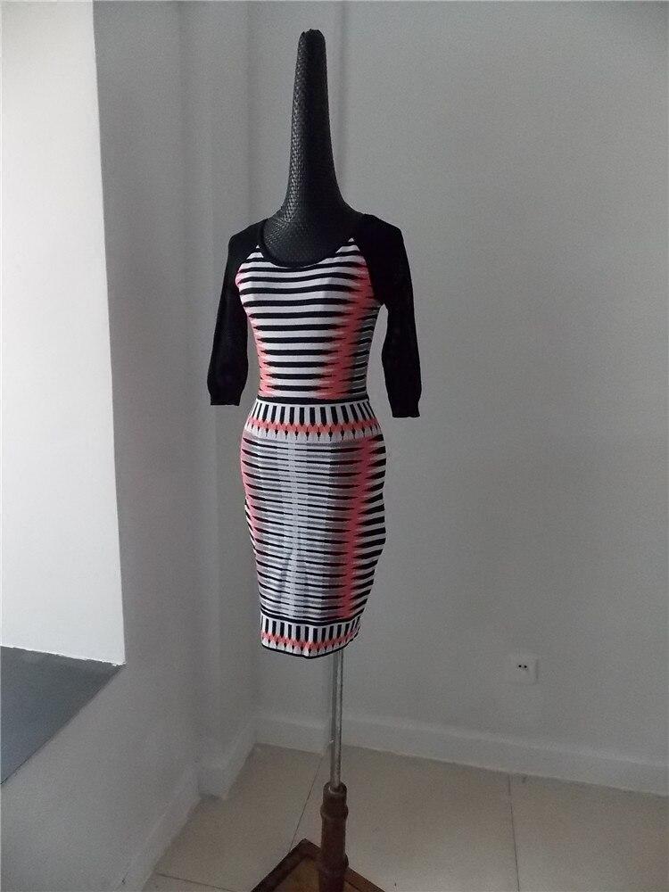 Net Manches 2018 Taille Printemps Sac Un Hip Multi Nouvelle Style Haute Arrivée Couleur De Qualité Italien Robe Bande Halter Tricot Creux O5H6nwZqxE