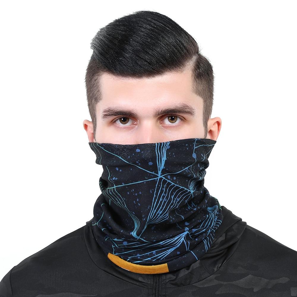 2020 Polyester Bandana Magic Neckerchief Microfiber Men's Scarf Snood For Women Versatility Caps Cycling Elastic Snood Scrunchie