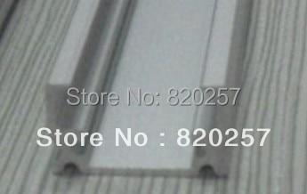 /DHL/FEDEX/EMS envío gratis 10 unids/lote 1 m LED carcasa de perfil 17*9*1000 MM cubierta de PC y tapa de extremo