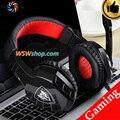 HiFi PC Computer Gaming Headset Gamer Auriculares Audifonos Fone De Ouvido auriculares Con Micrófono