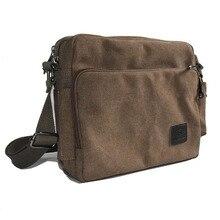 High Quality Men Canvas Bag Casual Travel Men's Crossbody Bag Luxury Men Messenger Bags