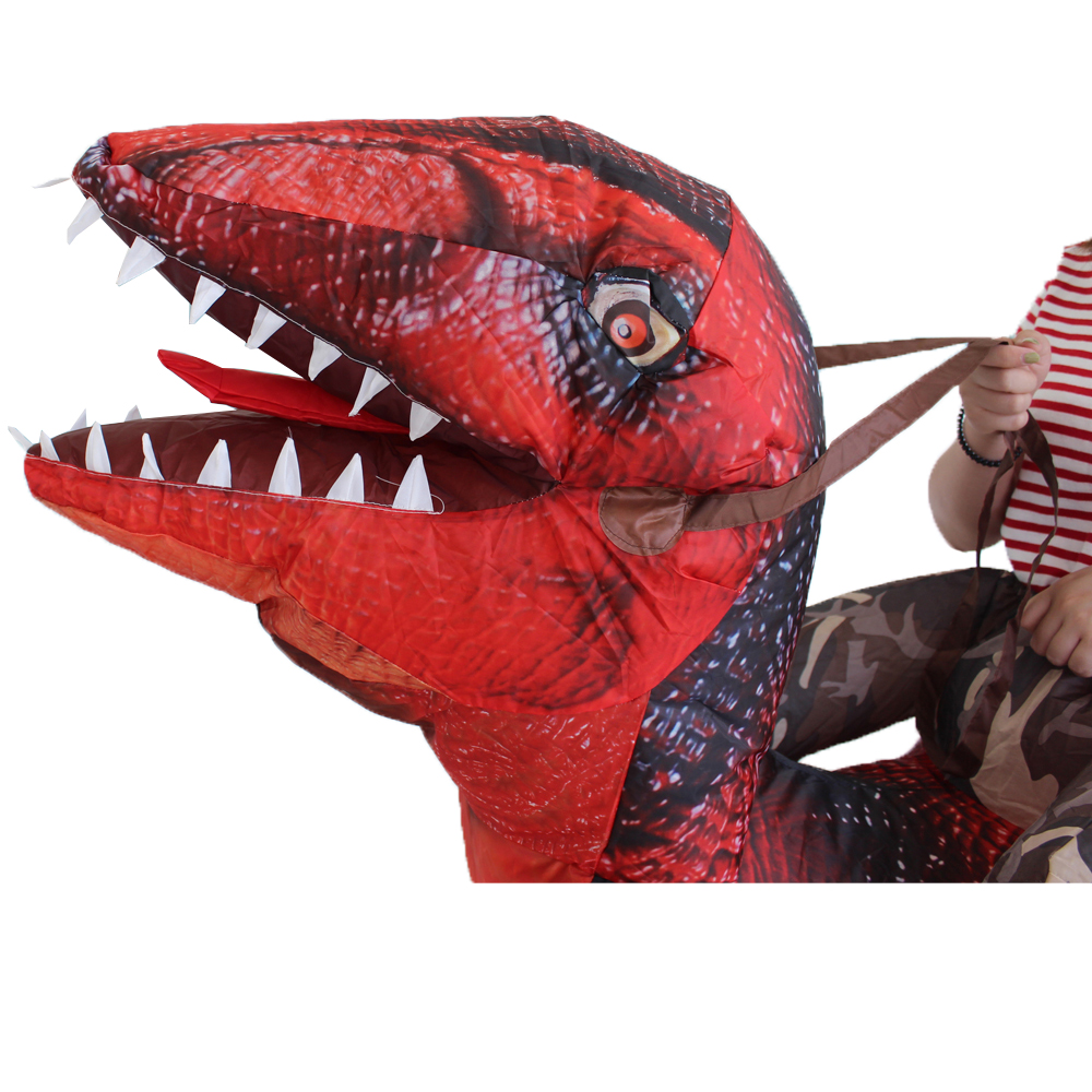 New Style Giant T-REX Dinosaur Inflatable Costumes Halloween Party Costume Cosplay Costume for Adult