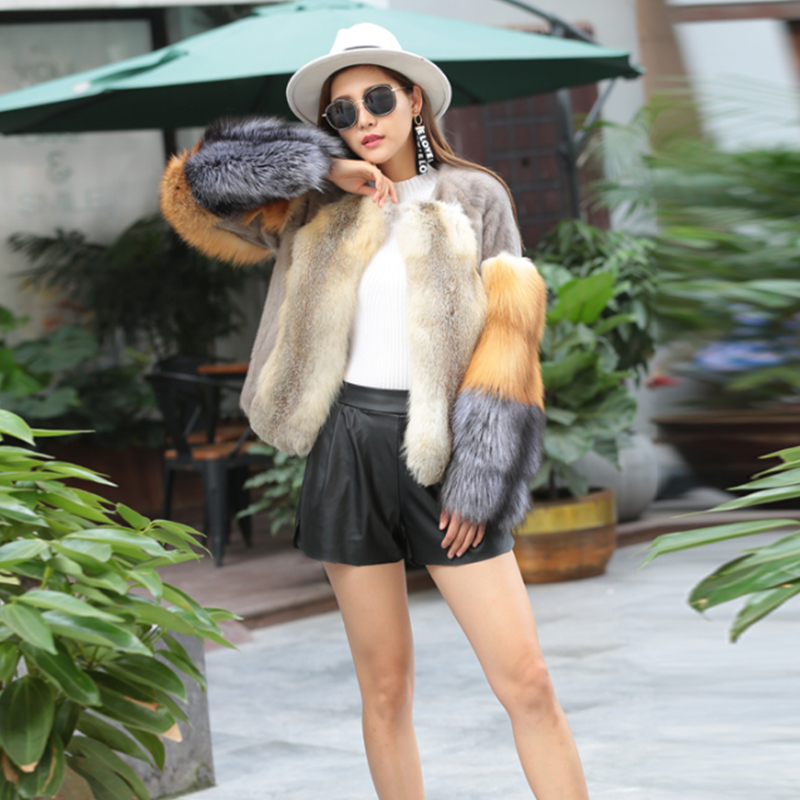 Fox Fur Shorts