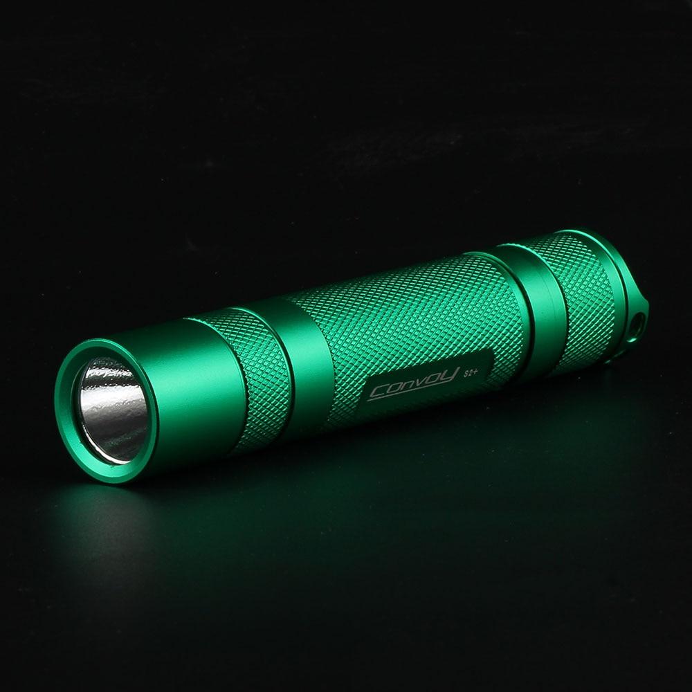 Buy Convoy S2 Green Cree XML2 U2 1A EDC LED Flashlighttorchlanternself