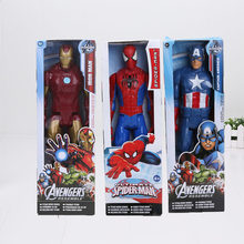 "12 ""30 CM super Heros Captain America The First Avenger Superhero PVC Toy Action Figure(China)"