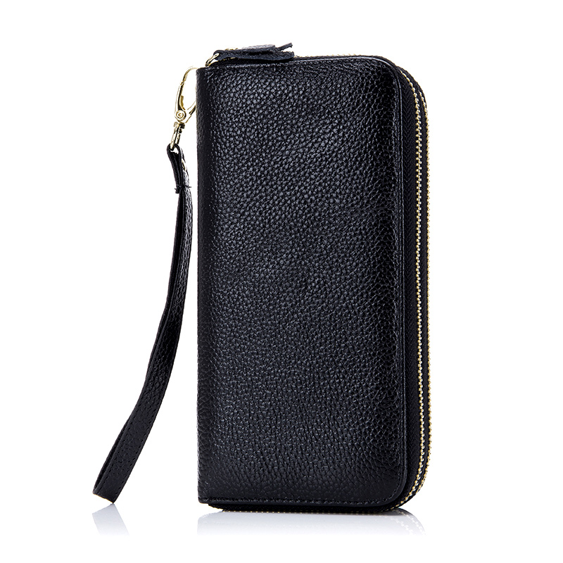 COMFORSKIN Brand New Arrivals RFID Genuine Leather Large Capacity Double Layers Womens Wallet 2018 Hot Brand Organizer Wallets