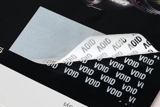 1000pcs Free Shipping Custom Printing Anti Fake Sticker White Void Security Packing Seal Secure Tamper Evident Label Tag 40*20mm For Sale