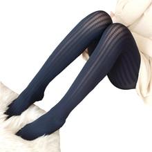 Осенью И Зимой Сексуальная Мода Колготки Женские Бархатные Чулки Ноги Был Тонкий Тонкая Льняная Нить Шаблон Колготки Бесплатная Доставка